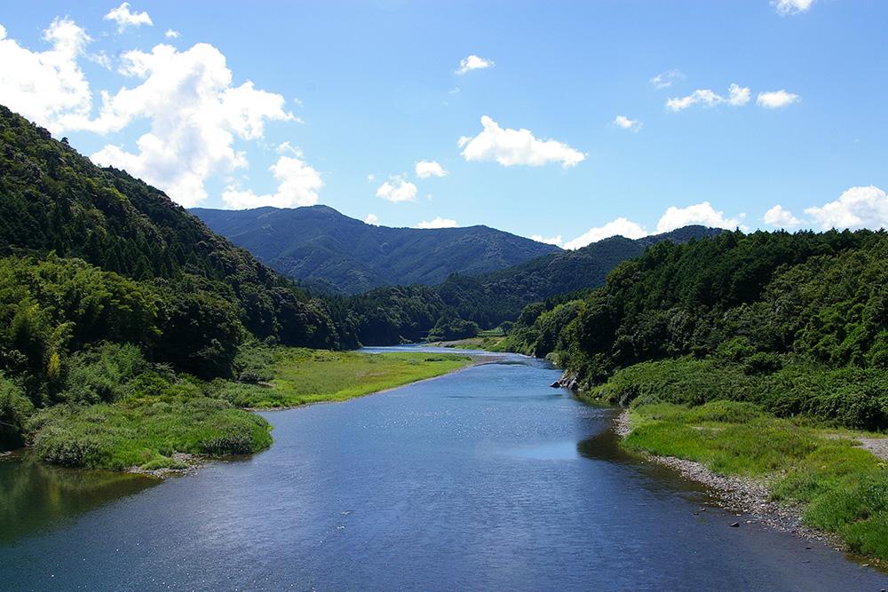 「日本一の清流」宮川